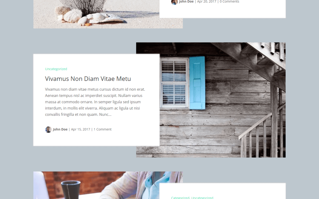 Divi Blog Extras Box Extended